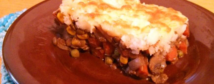 Shepherd's Pie – Vegetarian Style