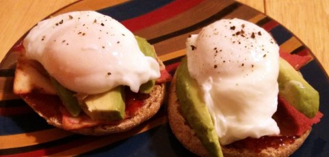 "The ""Miss B"" Openfaced Breakfast Sandwich"